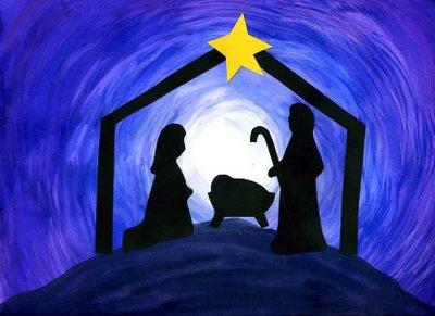 nativity siloutte